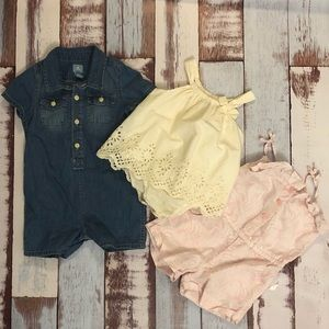 BABY GAP LOT. 3 Piece.